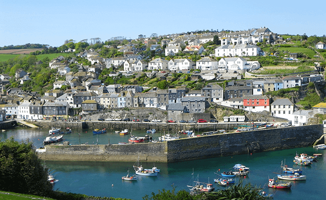 View of Mevagissey